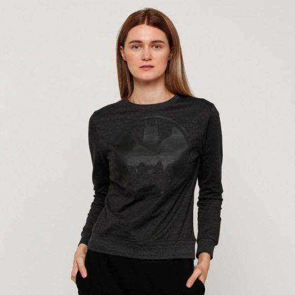 Splash Character SweatShirt , for Women , Black