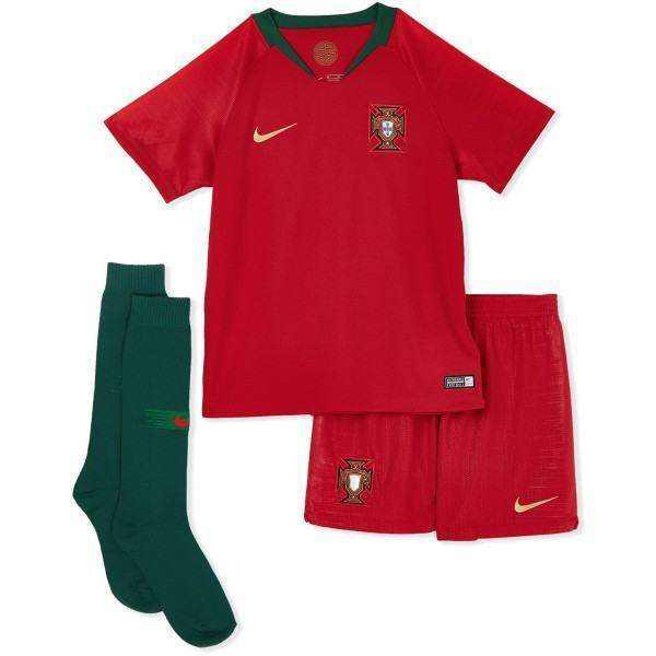Nike FPF Portugal Home Football Kit for Boys