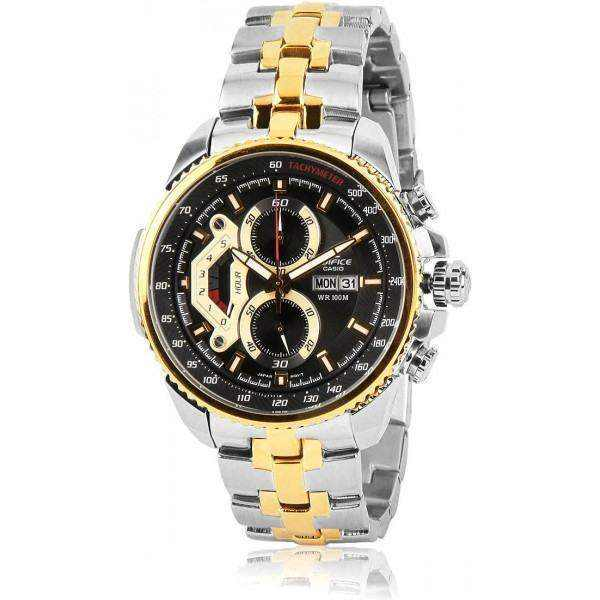 Casio Edifice for Men - Casual Stainless Steel Band Watch - EF558SG-1AV