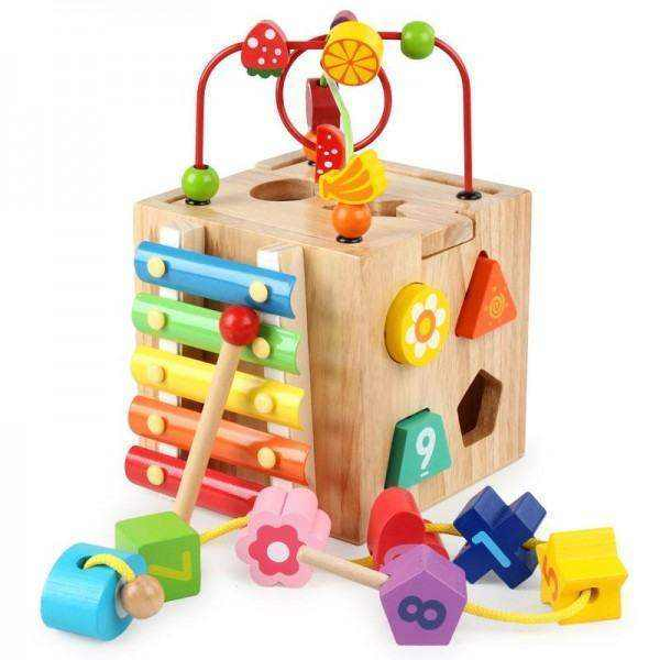 Wooden Toy Box for kids